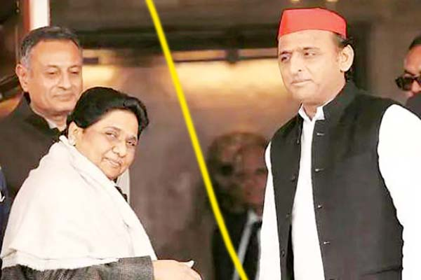 Broken BSP-SP alliance, vote share just excuse, CM post Mayawati target!