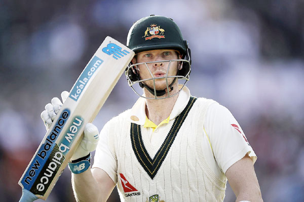 Batsman Steve Smith