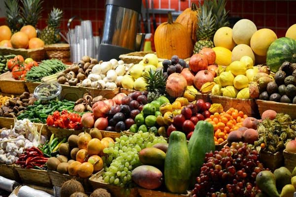 Fruits and vegetables are very good for health