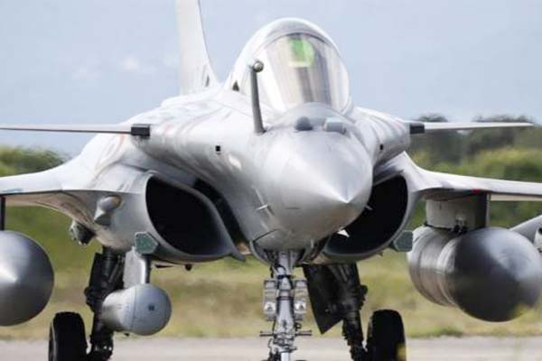 Pakistan is scared of Rafale, we are not involved in arms race