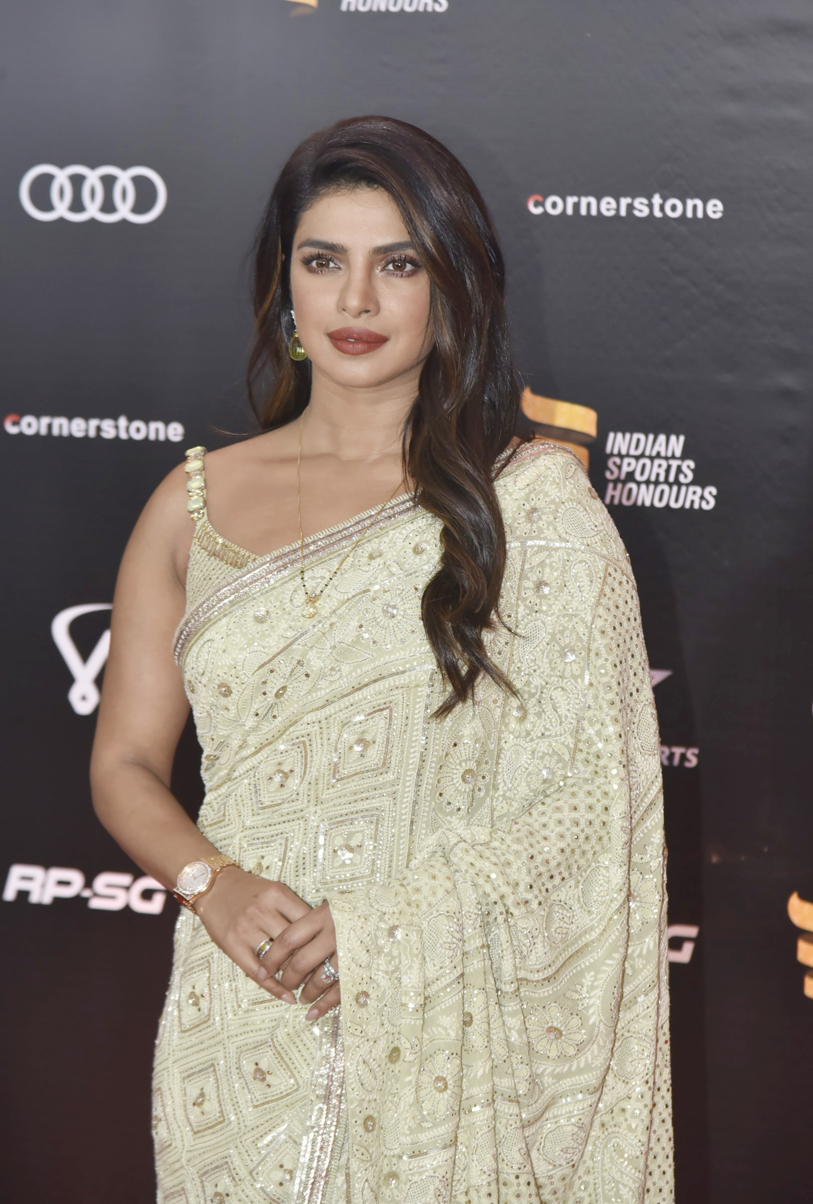 Indian Bollywood actress Priyanka Chopra attended the second edition – Bank of Bollywood DSC9281