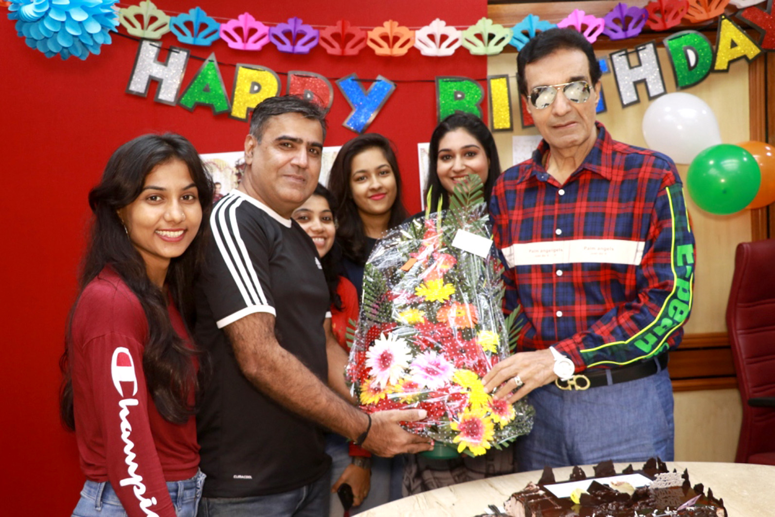 Actor, Producer and director celebrated his birthday in grand style – Bank of Bollywood Dheeraj Kumar Creative eye PR Team