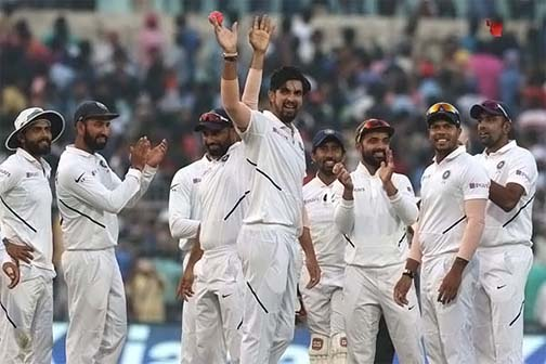 Bangladesh team piled up 106 on day one in day night
