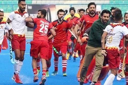 Player clashed in Nehru Cup final, fight