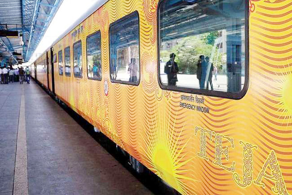 Tejas Express earns 70 lakh in first month