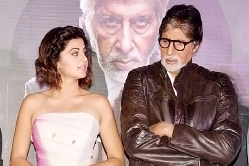 "Taapsee acted more than Amitabh Bachchan in ""Badla"""