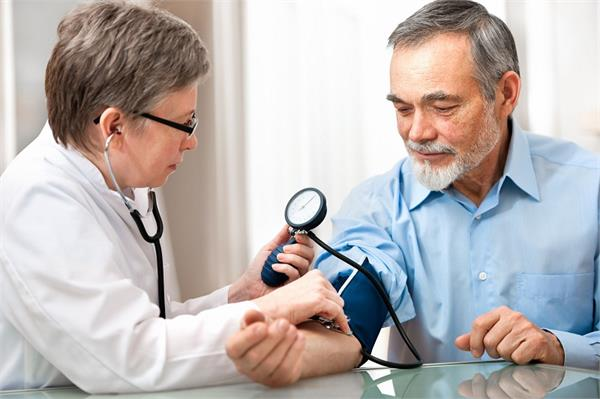 High blood pressure may also indicate body sensation