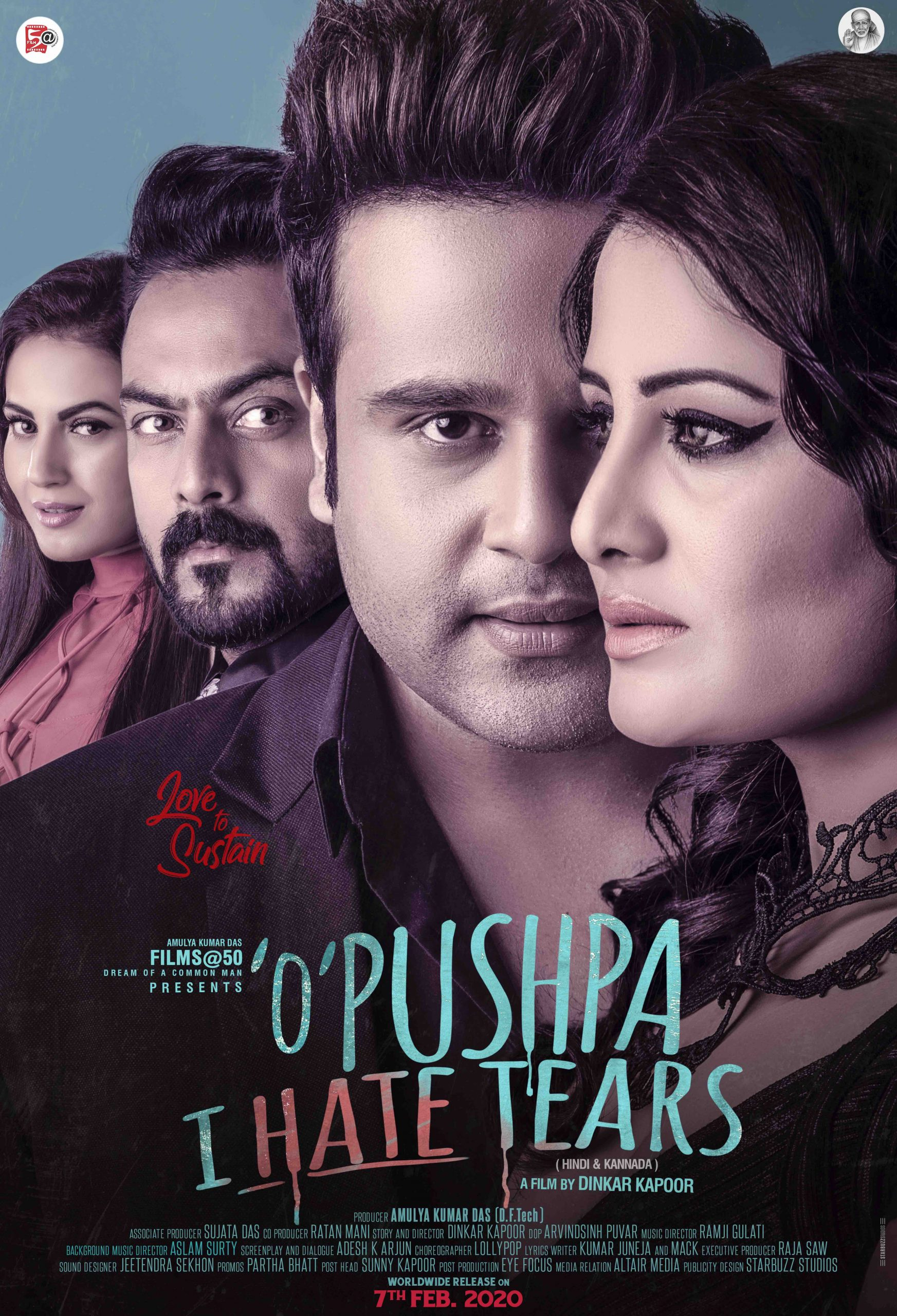 "Krushna Abhisheks's Starrar ""O' Pushpa I Hate Tears"" second poster released"