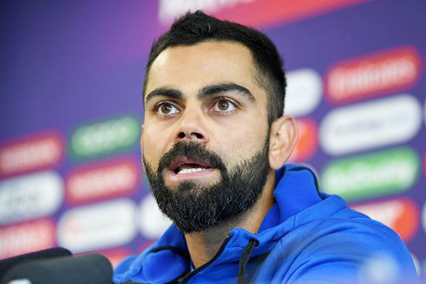 It is not right to bring Anushka's name in the middle: Virat  Virat Kohli has said that his wife Anushka Sharma's name should not be brought in sports related matters