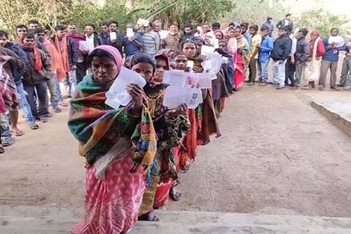 Jharkhand Assembly Election: Voting for fourth phase continues amid tight security