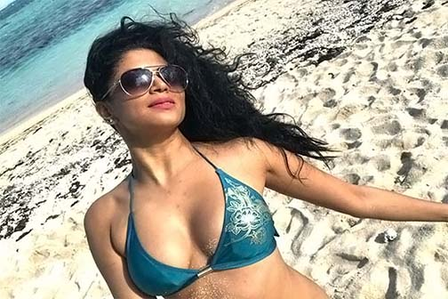 Kavita Kaushik aka 'Chandramukhi Chautala' posted the photo and told herself 'Monkey'