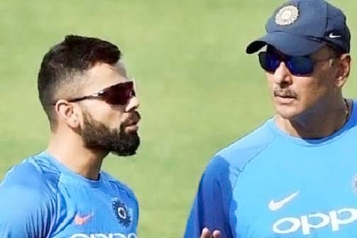 Virat came to the rescue of coach Shastri Trolls are being done under an agenda