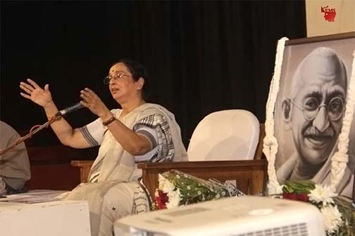Gandhiji's life is the epic of reverence and purusha: Dr. Shobhana Radhakrishna
