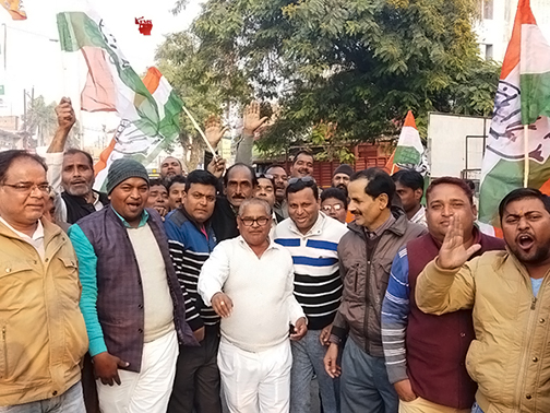Congressman jumps on Jharkhand's victory