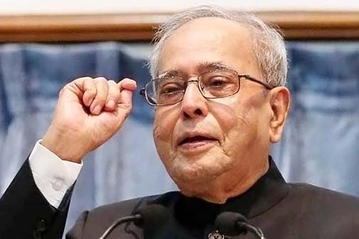 Pranab Mukherjee appeals to Modi government