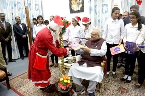 Lord Jesus guides humanity: Governor Tandon