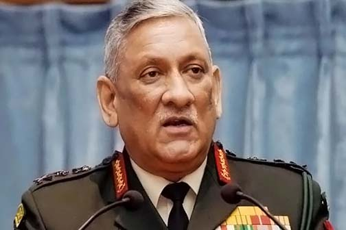 Bipin Rawat becomes first Chief of Defense Staff of the country