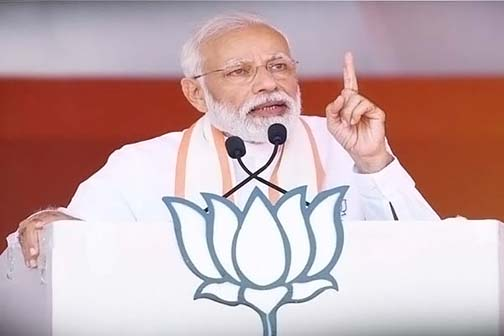 Modi will start campaigning by rally in Ramlila ground on 22nd