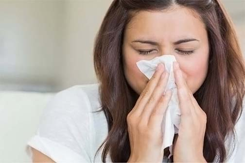 Avoid allergies in winter