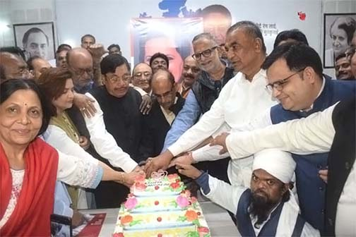 Sonia Gandhi's birthday was celebrated with simplicity