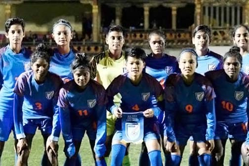 Indian women's U-17 team to play matches with Sweden, Thailand