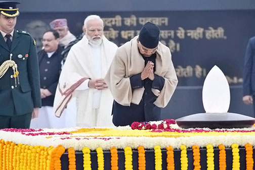 Always Atal Salute to top leaders on Vajpayee on 95th birth anniversary, President Kovind, PM Modi pay tribute