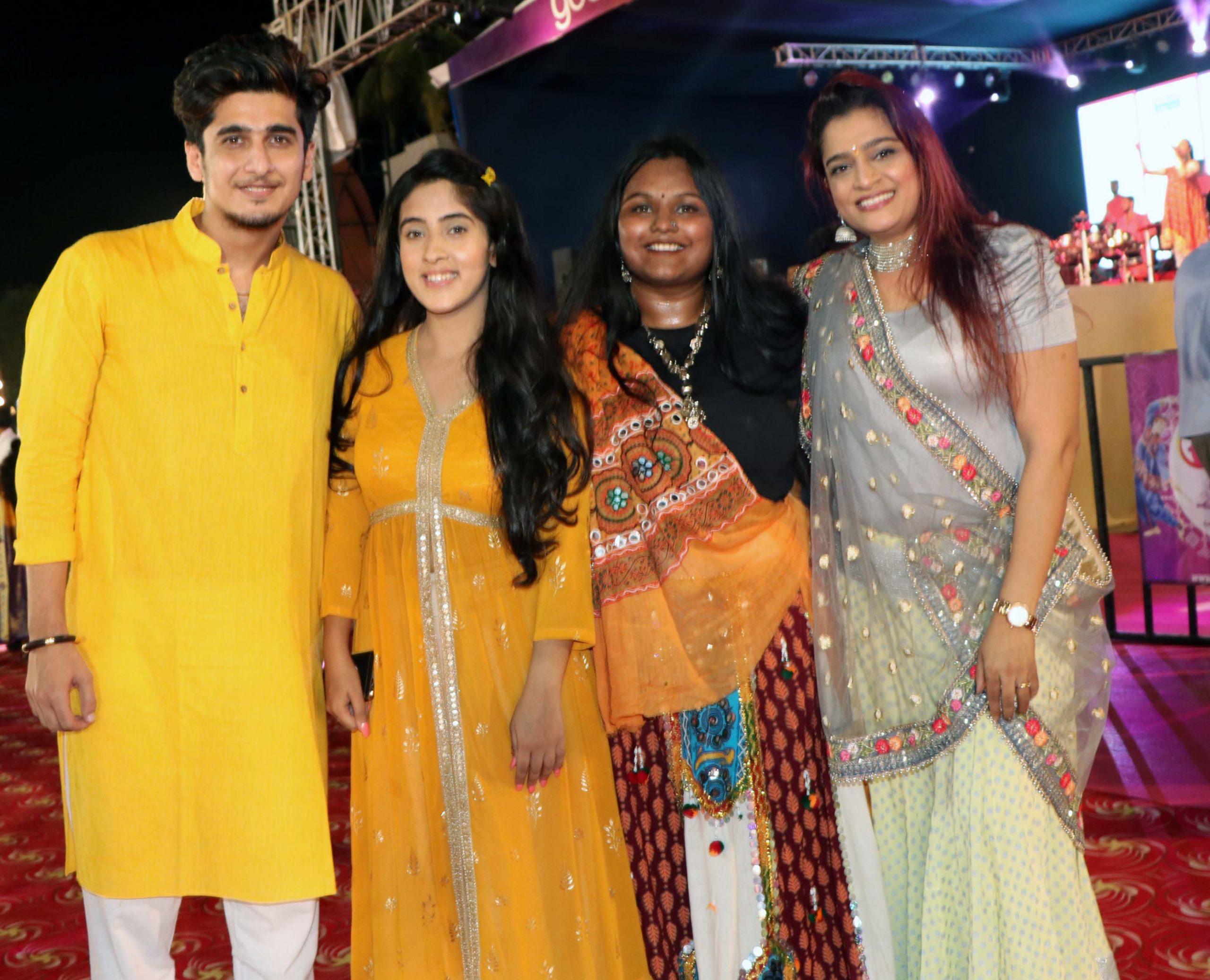 Celebs came attended GoCeleb Club Garba in Mumbai   Celebs came attended GoCeleb Club Garba in Mumbai bhavin bhanushalisameeksha suddrhuvi shah ekta jain scaled