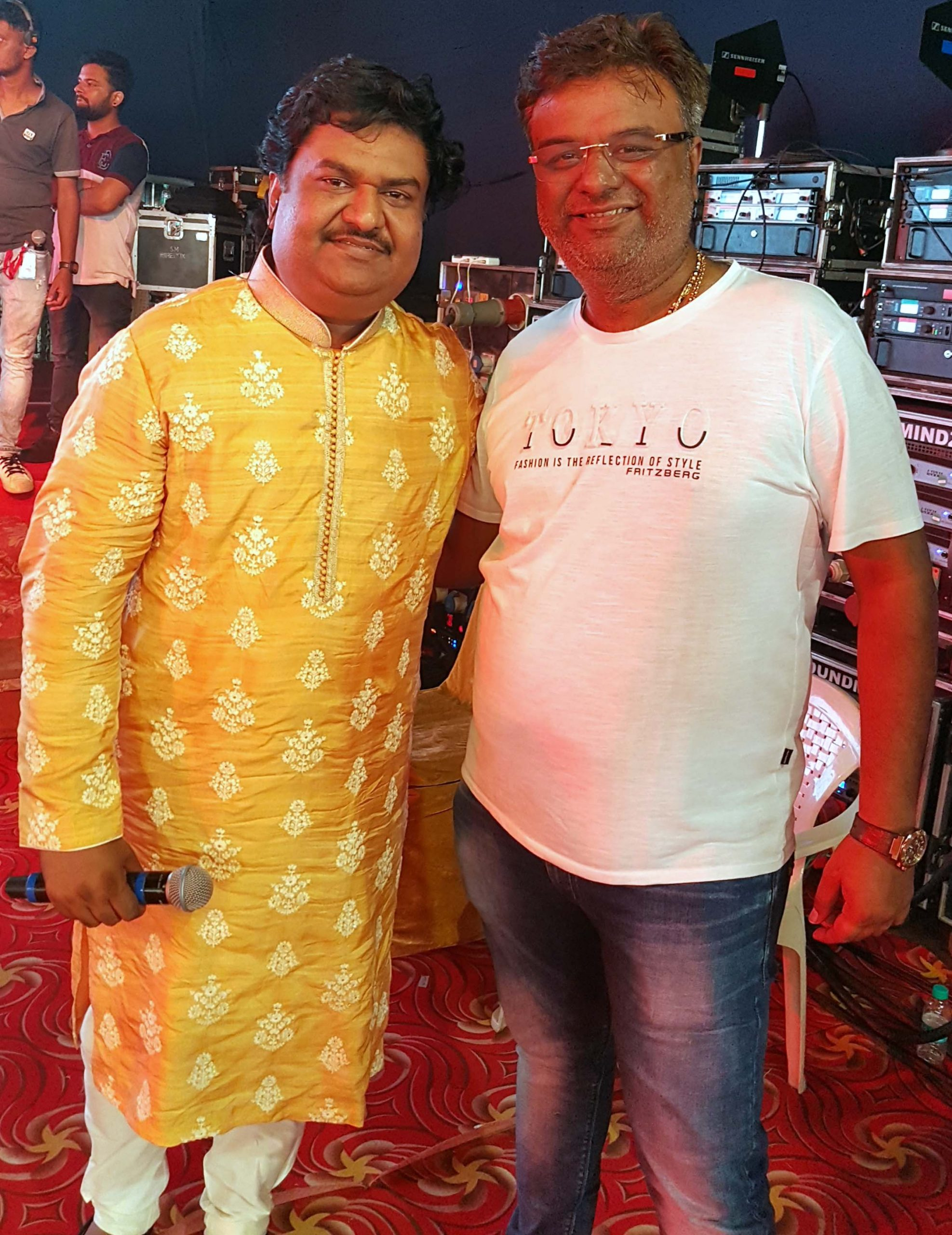 Celebs came attended GoCeleb Club Garba in Mumbai   Celebs came attended GoCeleb Club Garba in Mumbai osman mir chirag shah scaled