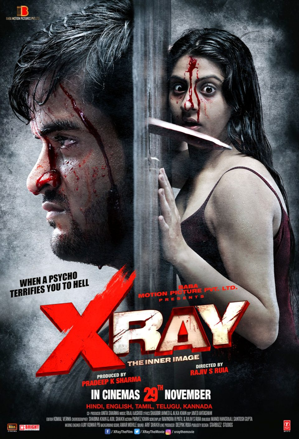 X Ray – The Inner Image A Psychological Thriller opening day collection is 1.15 Crore