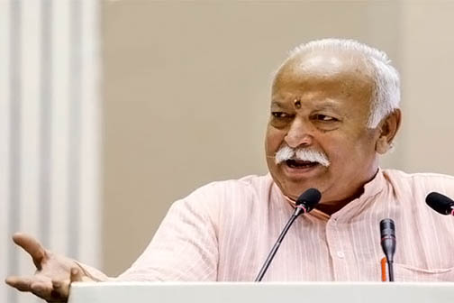All 130 crore people of the country are Hindus: Mohan Bhagwat