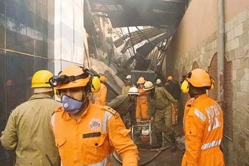 Fierce fire in Okaya factory, Amit trying to drive out three people, died due to suffocation