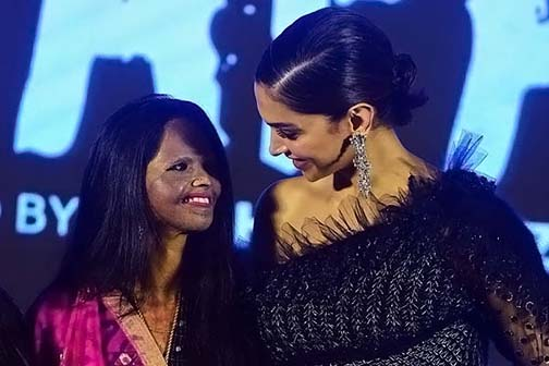 Deepika Padukone and Lakshmi Aggarwal were crying