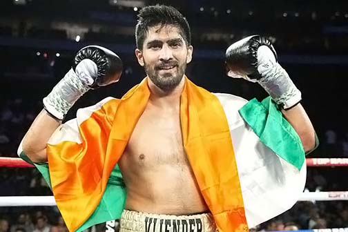 Vijender will come down to continue his campaign of victory