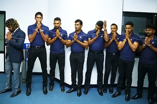 Sri Lankan team reached Guwahati for T20 series