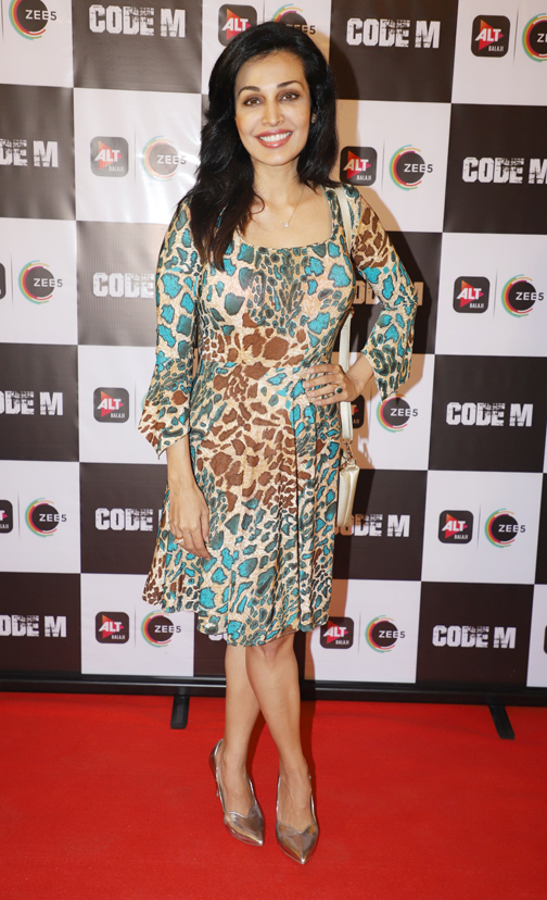 screening of CODE M in Mumbai