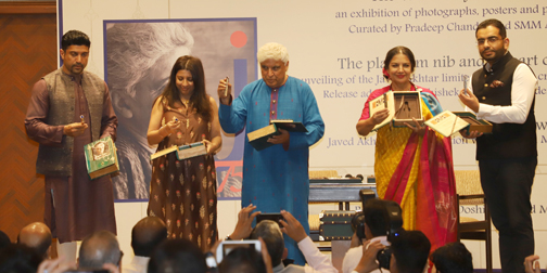 painting exhibition and the Launch of His special pen edition in Mumbai