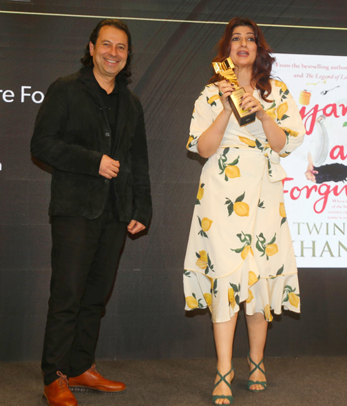 Twinkle Khanna at the Crossword Book Awards 2019 in Mumbai