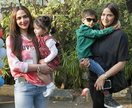 Bollywood Celebs at Ekta Kapoor's son Ravie's first birthday bash at The Club
