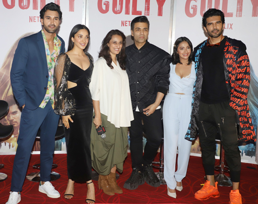the trailer launch of its film Guilty