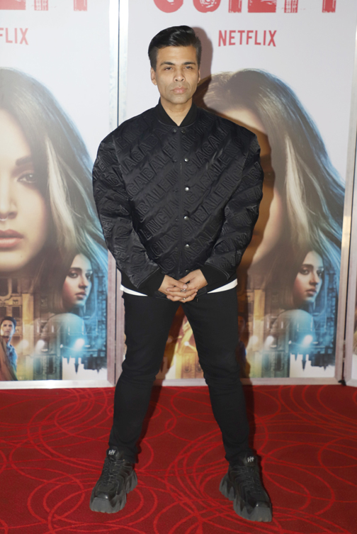 the trailer launch of its film Guilty  Bollywood Director Karan Johar the trailer launch of its film Guilty – Bank of Bollywood 20200218130907 IMG 4735