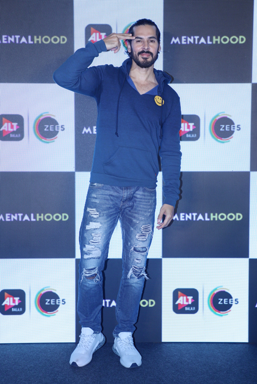 trailer launch of the most-awaited and the biggest web-series of the year MENTALHOOD in Mumbai