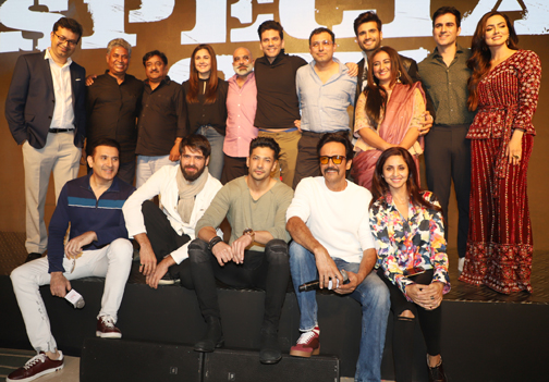 the trailer launch of Hotstar Specials Biggest Action Thriller of 2020 - Special Ops in Mumbai