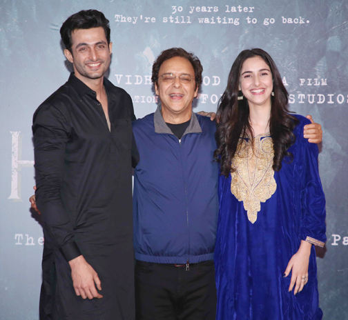 special screening of their upcoming movie 'Shikara'   Screening of their upcoming movie 'Shikara' In this picture taken – Bank of Bollywood 928A7937