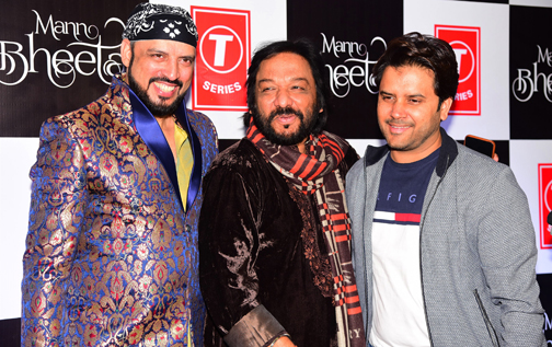launch of music video Hindi album 'Mann Bheetar' in Mumbai