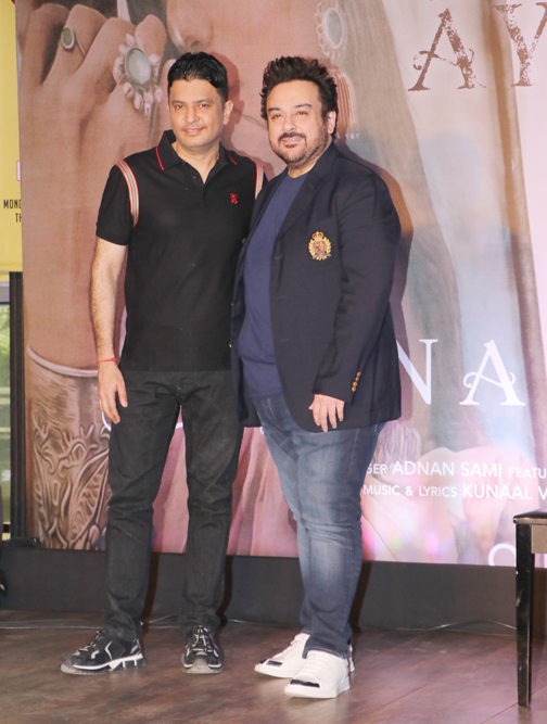 launch of Adnan Sami's single 'Tu Yaad Aya' in Mumbai