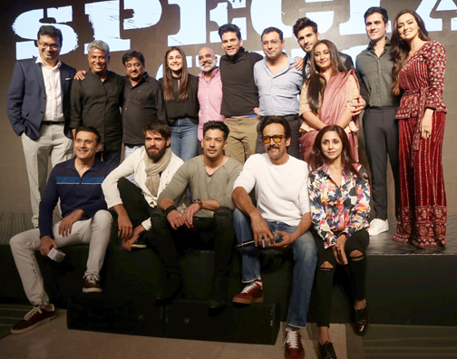Hotstar Specials upcoming action thriller series 'Special Ops', in Mumbai