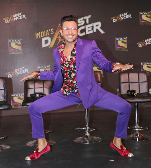 the launch of India's Best Dancer 2020.