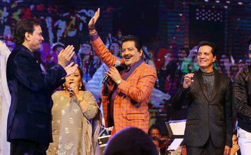 "Musical Show ""Eternal Hits ""of Jatin- Lalit- Live in concert"