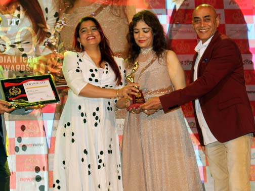ekta jain ,pratima totla & pankaj berry  Dushyant Pratap Singh organised attended Top 50 Indian Ikon Awards – Bank of Bollywood ekta jain pratima totla pankaj berry