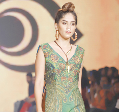 Design Students Of Amity University Show At Bombay Times Fashion Week